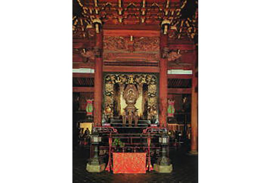 仏殿内部(重要文化財)